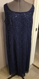 Dresses & Skirts - Navy Evening Gown